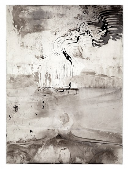 Sky Pape, Untitled (Image 3941) 2012, sumi ink on watercolor paper