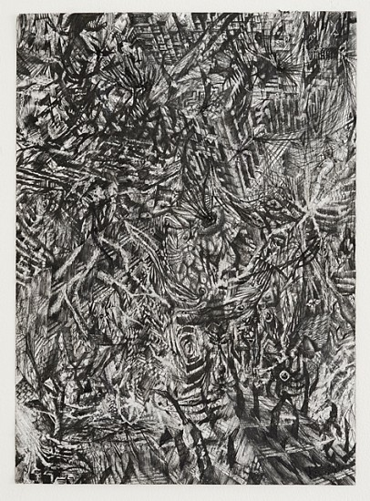 Viktor Timofeev, All Your Relations 2013, ink on paper
