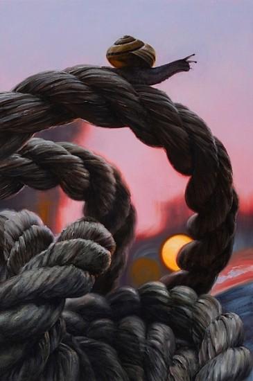 Matt Brackett, Echo 2012, oil on canvas on panel