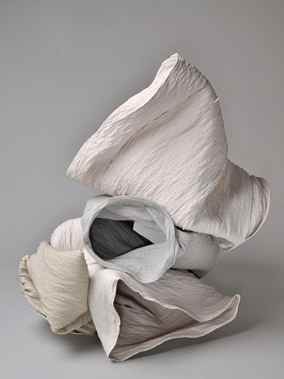 Cheryl Ann Thomas, Relics 327-329 & 331 2012, porcelain