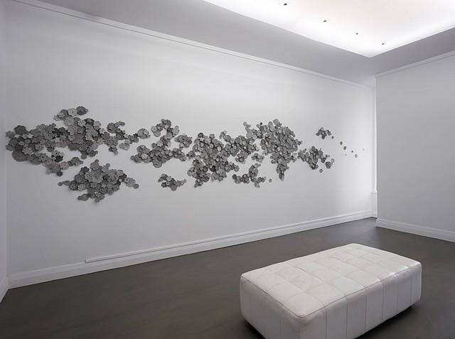 Wendy Kawabata, Grow in Light 2013, wood and acrylic enamel paint