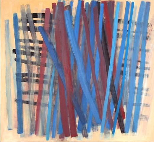 Julie Shapiro, Stratum 2 2010, oil on canvas