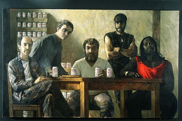 David Loeb, Brooklyn Masters 1991, oil on canvas