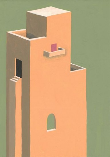 Marina Cappelletto, Building 2013, gouache on paper