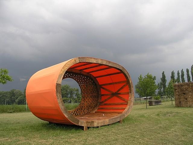 Miloslav Fekar, Little Houses 2008, wood