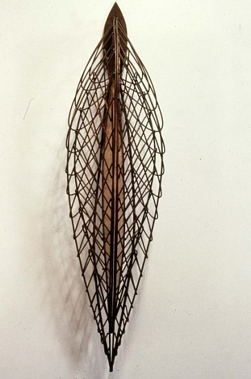 Kathy Goodell, Cathexis 1989, copper, copper mesh