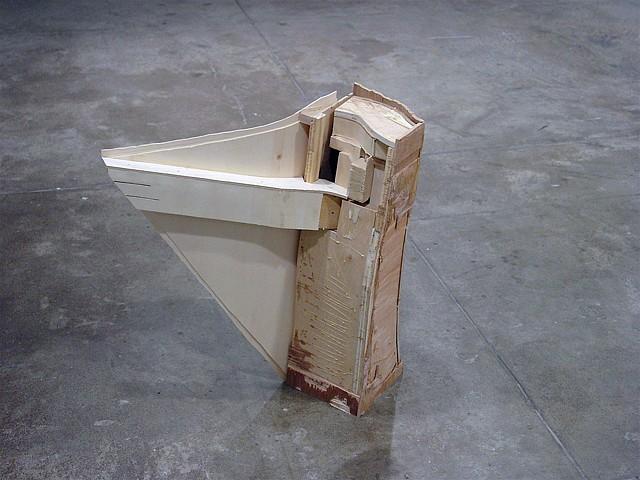 Hans Accola, Ghost 2004, wood
