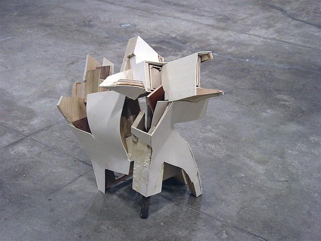 Hans Accola, Dog 2004, wood