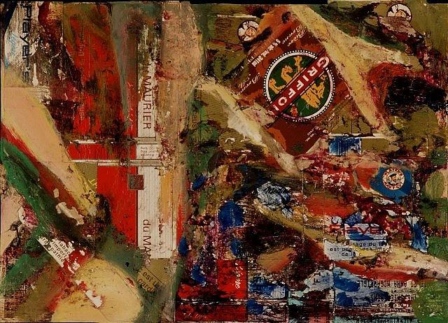 Oisin Breatnach, Canadian Painting 1994, mixed media