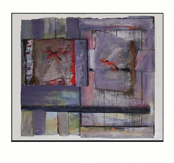 Oisin Breatnach, Fragments 2010, mixed media
