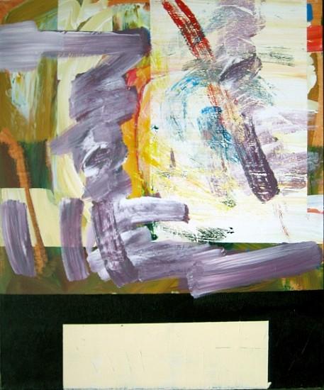 Michael Stevenson, Untitled 2008, acrylic on canvas