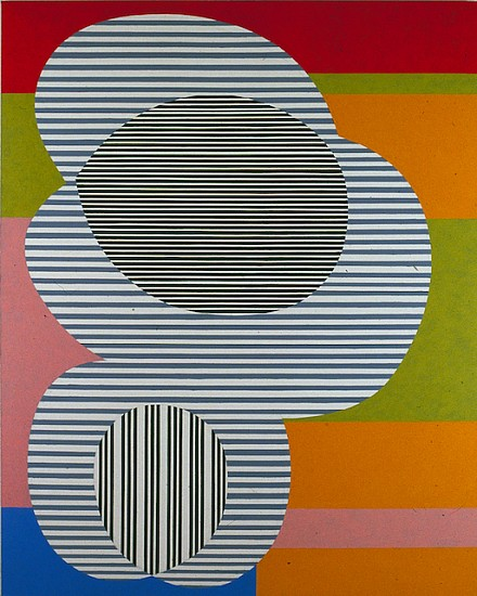 Oli Sihvonen, Untitled (004) 1988, oil and acrylic on canvas