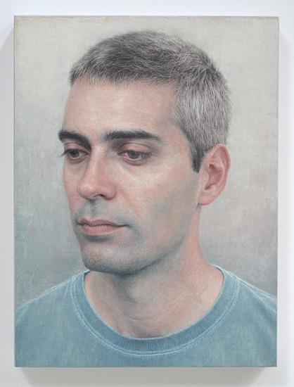 Robert Bauer, Joan Martinez Cuerva 2012, oil on canvas, mounted on wood