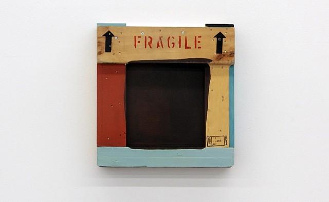 Miren Doiz, Fragile 2012, acrylic on wood