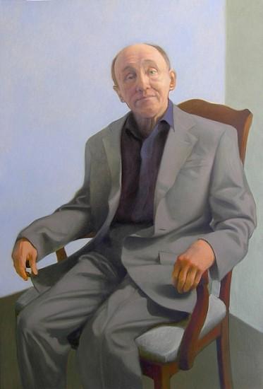 Peter Malone, John McCarthy 2009, oil on linen