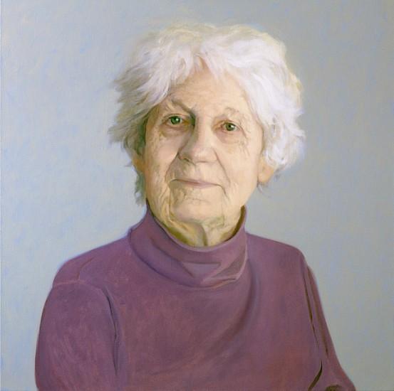 Peter Malone, Lois Dodd 2014, oil on linen