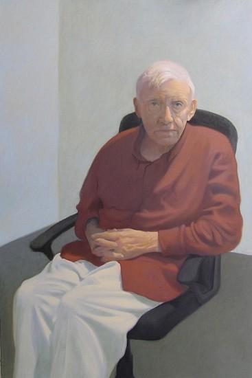 Peter Malone, Henry Kramer 2009, oil on linen