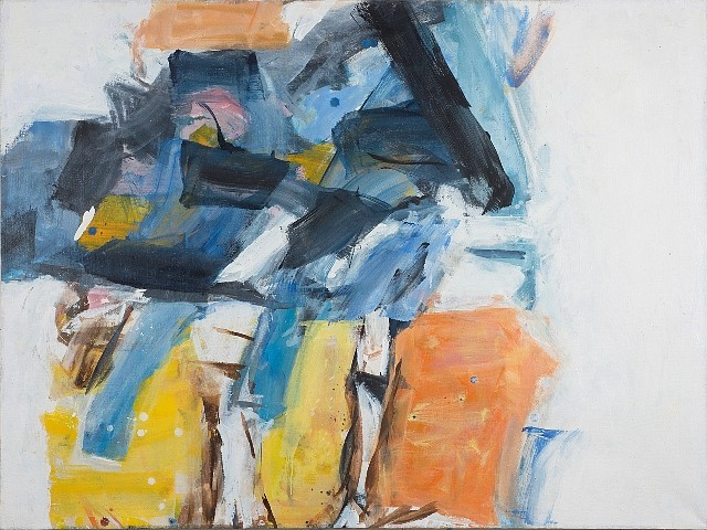 Natalie Edgar, Abstract Image 2011-2012, oil on canvas