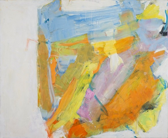 Natalie Edgar, Abstract Image 2011, oil on canvas