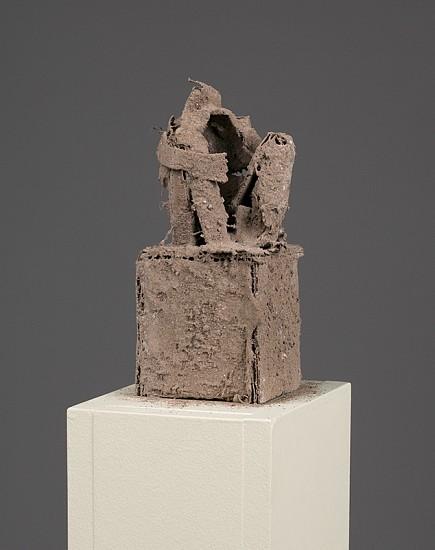 Natasha Doyon, Caved In 2012, ash on cardboard