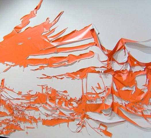 Dagmara Genda, Limp Landscape 2010, vinyl