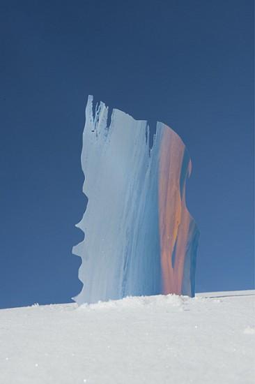 Dagmara Genda, Untitled (Snow Collage I) 2014, inkjet print