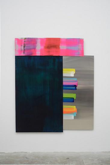 Claudia Desgranges, composite painting  # 26, 010314 2014, acrylic on aluminum