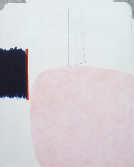 Elke Albrecht, Painting 194 2012, mixed media on canvas