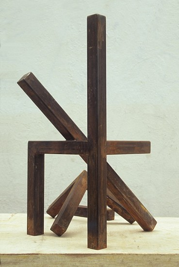 David Seccombe, Deconstructed Chair 2010, steel