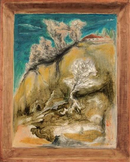 Brian Fahlstrom, Landscape 2015, oil on panel