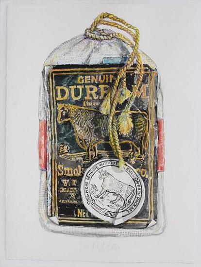 Don Nice, Bull Durham 2014, watercolor