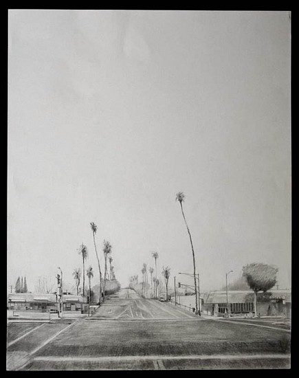 Brian Reynolds, Easter Comes to the Grandview Avenue Hill 2013, graphite on paper