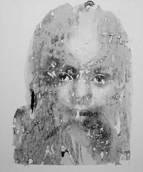 Deborah Roberts, Adieu 2013, mixed media on canvas
