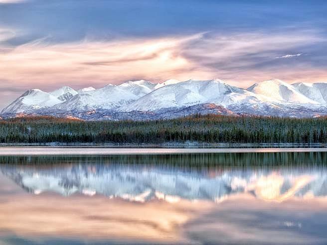 Kevin Briggs, Winter's Glow 2012, Digital photo