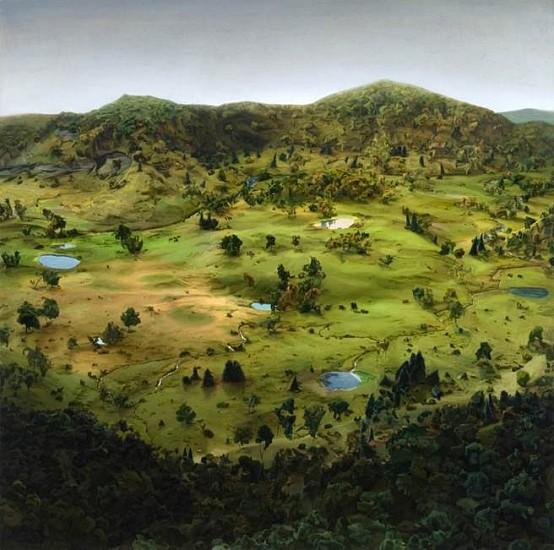 Amy Bennett, Beforeland 2014, oil on canvas