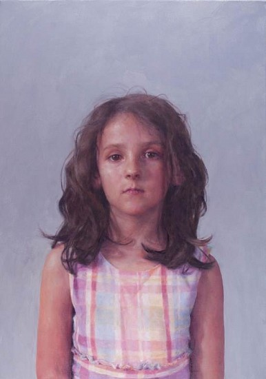 Jenny Dubnau, R.D., Arms at Sides 2014, oil on canvas