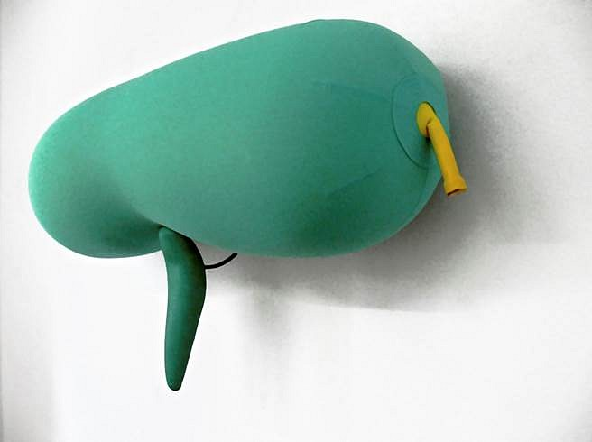 Nancy Davidson, Dudette 2007, latex, fabric, plastic, metal