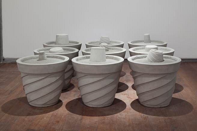 Bhuvanesh Gowda, Birth of the Spaces 2012, cement concrete