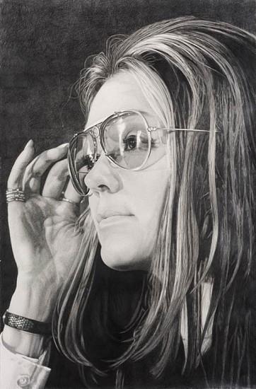 Karl Haendel, Gloria 2012, pencil on paper