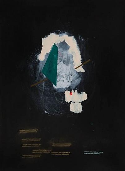 Caroline Kent, Ramblings 2013, acrylic on paper