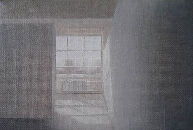 Andrew Smaldone, Studio #3 2014, oil on linen