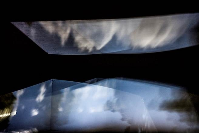 Marian Roth, Inside Studio 12 #1 2013, Camera Obscura Photograph