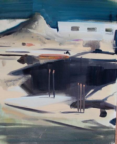 David Barnes, Site 2 2014, oil on canvas