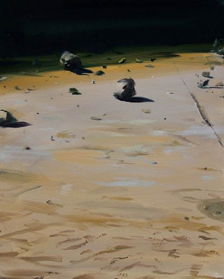 David Barnes, The Ground 2014, oil on canvas