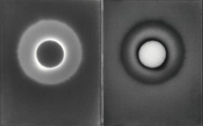 Caleb Charland, Double Index With Candle #17 (series: Penumbra) 2015, Gelatin Silver Print