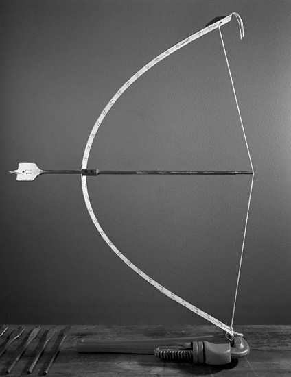 Caleb Charland, Bow and Arrow (series: Demonstrations) 2010, Gelatin Silver Print