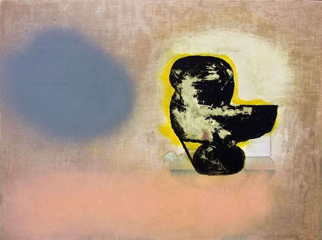 Brady Haston, Eclipse 2013, oil on panel
