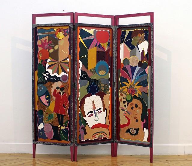 Jonathan Hammer, TILTLILT 2008, exotic skins and precious metals