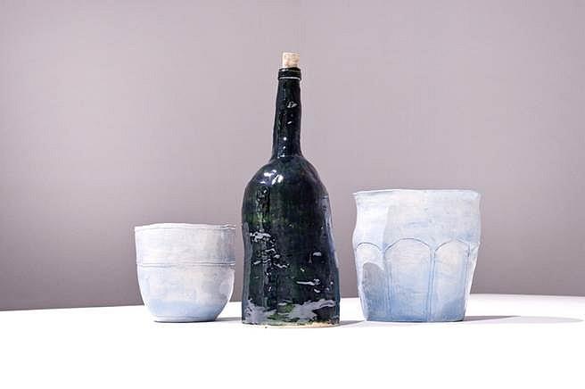 Jesse Wine, Jesse's wine 2014, glazed ceramic