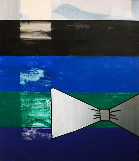 Sonia Almeida, Bow 2014, oil on marine plywood